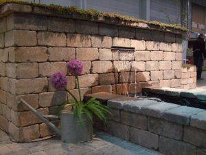 Herregård mur brunmix